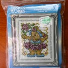 Design Works ballerina bear counted cross stitch kit 602