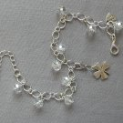 DIY Crystal Bead Chain Bracelet and Charm Clips Your Choice