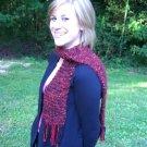 Wool Knit Scarf HS0005A