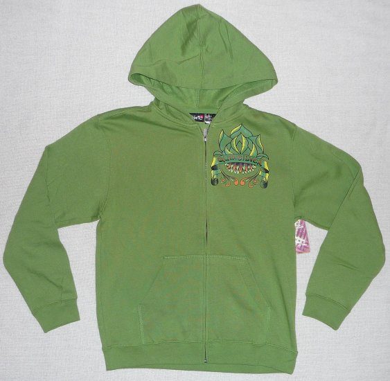 Quiksilver Boys Full-zip Hoody Size Medium 12-14 NWT!