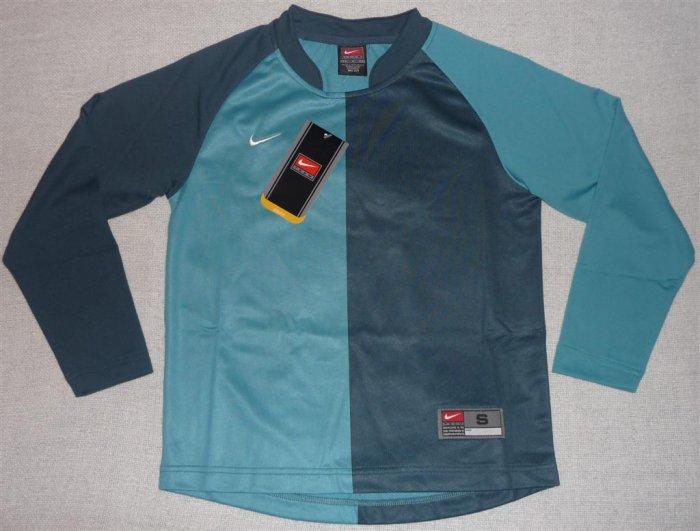 NIKE Dri-Fit Jersey Boys Blue Athletic Shirt Small 8 NWT!!