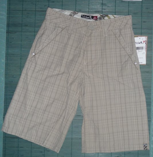 Quiksilver Boys Shorts 8/10 Size 25 NWT
