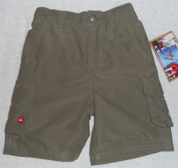 Quiksilver Boys Toddlers Shorts 4T NWT