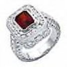 SWAROVSKI Garnett Ring...NEW SZ 6
