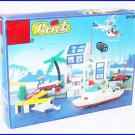 Coast Guard Boat Ship Helicopter Police Car Dolphin Brick Block Set fit LEGO (NEW - 50% OFF TO EBAY)