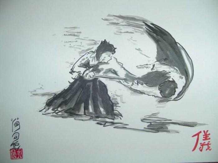 aikido jojutsu throw