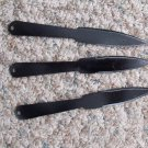 bujinkan ninjutsu genbukan  throwing knives, set of 3