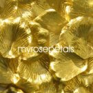 Petals - 1000 Silk Rose Petals Wedding Favors - Solid Colors - Gold