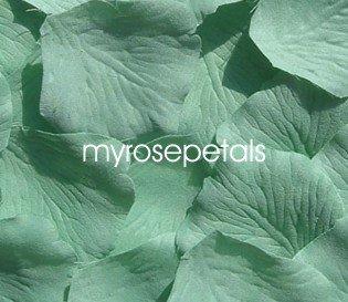 Petals - 1000 Silk Rose Petals Wedding Favors - Solid Colors - Pistachio