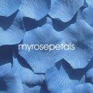 Petals - 200 Silk Rose Petals Wedding Favors - Solid Colors - Deep Blue