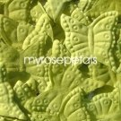Petals - 200 Butterfly Shaped Silk Rose Petals - Wedding Favors - Lime Green