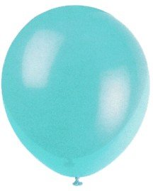 "Balloons - 12"" Latex Balloons - 144/Bag - Birthday Party/Wedding Celebration - Teal"