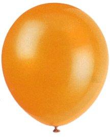 "Balloons - 12"" Latex Balloons - 144/Bag - Birthday Party/Wedding Celebration - Orange"