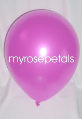 """Balloons - 12"""" Latex Pearlized Balloons - 144/Bag - Party/Wedding -  Pink"""