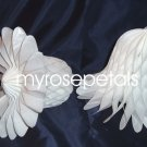 "Honeycomb Bells - Bridal/Wedding/Anniversary Decor - 3"" (6 count) - White"