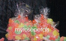"""Clear Cello/Cellophane Bags - Flat - 100 Bags - 3"""" x 5"""" - Party/Wedding Favors"""