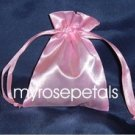 "Satin Wedding Favor Bags/Pouches - 4""x6"" - Pink (10 Bags)"