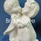 Porcelain Wedding Bride and Groom Cake Topper - Wedding Decoration / Gift - (HS90325A)