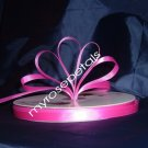 "Ribbon - Satin Ribbon- 3/8"" Single Face 100 Yards (300 FT) - Hot Pink -Sewing- Craft-Wedding Favors"