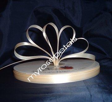 "Ribbon - Satin Ribbon- 3/8"" Single Face 100 Yards (300 FT) - Ivory -Sewing - Craft - Wedding Favors"