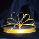 "Ribbon - Satin Ribbon- 3/8"" Single Face 100 Yards (300 FT)- Yellow -Sewing-Craft -Wedding Favors"