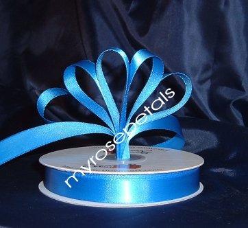 """Ribbon - Satin Ribbon- 5/8"""" Single Face 50 Yards (150 FT) - Royal Blue -Sewing-Craft- Wedding Favors"""