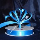 "Ribbon - Satin Ribbon- 5/8"" Single Face 50 Yards (150 FT) - Royal Blue -Sewing-Craft- Wedding Favors"