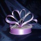 "Ribbon - Satin Ribbon- 7/8"" Single Face 50 Yards (150 FT) - Lavender -Sewing-Craft - Wedding Favors"