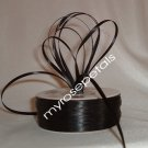 "Satin Ribbon- 1/8"" Double Face 100 Yards (300 FT) - Black - Sewing - Craft - Wedding Favors"