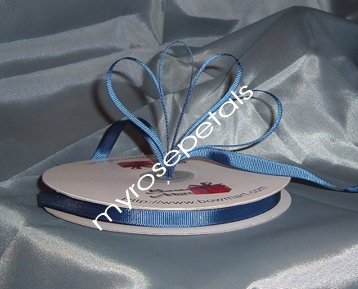 "Grosgrain Ribbon 3/8"" - 50 Yards (150 FT) - Navy Blue - Sewing - Craft - Wedding Favors"