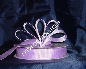 "Grosgrain Ribbon 7/8"" - 50 Yards (150 FT) - Lavender -Sewing- Craft - Wedding Favors"
