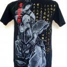 Emperor Eternity Japanese Geisha Yacuza Samurai Sword T-Shirt Black L
