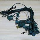 30 ft 10-Socket Cord Light String for Paper Lantern NEW