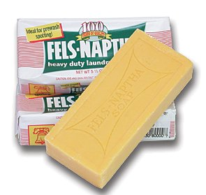 4 BARS OF FELS-NAPTHA BAR SOAP