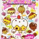 CRUX Sweet Desserts Memo Pad Kawaii Cakes Pudding