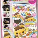 Kamio Japan Pudding Friends Letter Set kawaii Desserts Sweets Donuts
