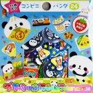 Kamio Japan Panda Mart Sticker Sack kawaii stickers Foods Doughnuts