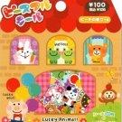 Mind Wave Lucky Animals Sticker Sack kawaii stickers