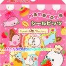 San-X Pink Mamegoma Sweet Desserts Sticker Sack #1 kawaii stickers doughnuts