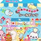 San-X Blue Mamegoma Sweet Desserts Sticker Sack #2 kawaii stickers doughnuts