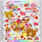 Pool Cool Bear's Cakes Sticker Sack kawaii stickers desserts food sweets