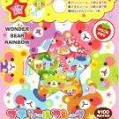 Kamio Japan Wonder Bear Rainbow Sticker Sack kawaii stickers