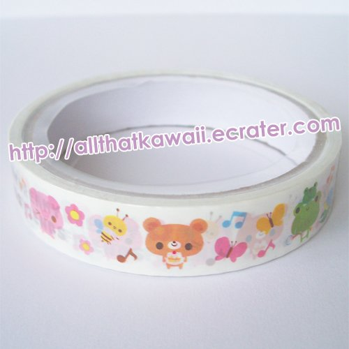 Kamio Japan Dreamy Friends Deco Tape kawaii cute