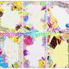 Wonder Lollipop Loose Memo Sheets by Crux Japan