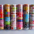 Wholesale Deco Tapes 60 Rolls Cute Kawaii Animals Desserts Sweets Doughnuts Mushrooms