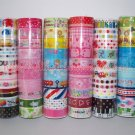 Wholesale Deco Tapes 60 Rolls Nyanko Mamegoma Baby Boo Cupcakes Ice Cream Kawaii Animals