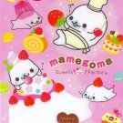 San-X Mamegoma Sweet Factory Memo Pad #2 pink kawaii desserts cakes doughnuts