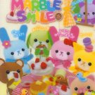 Kamio Japan Marble Smile Mini Memo Pad kawaii