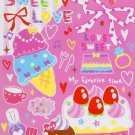 Kamio Japan Sweet Love Memo Pad kawaii (pink)