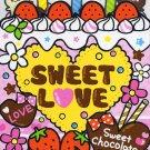 Kamio Japan Sweet Chocolate Memo Pad kawaii